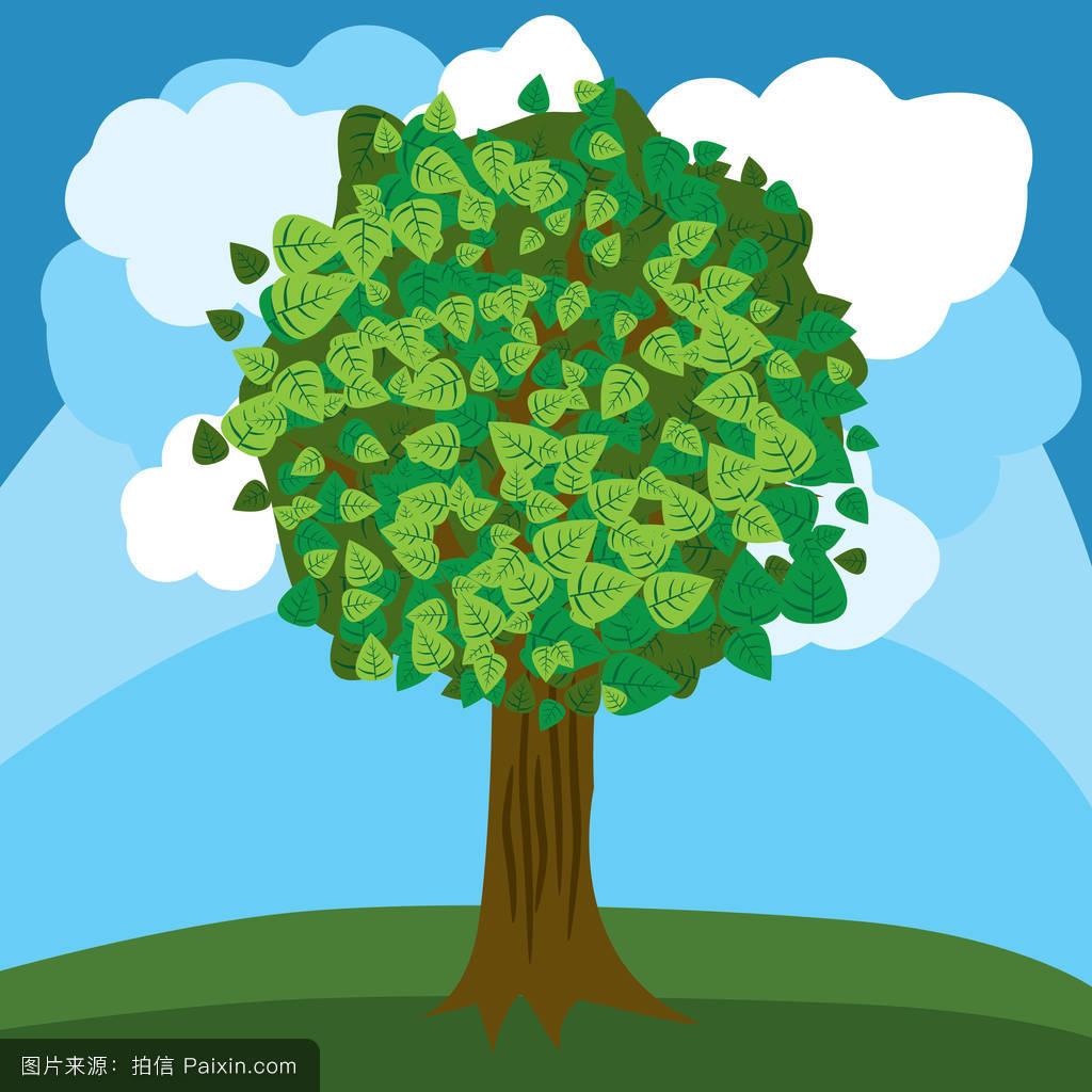 剪贴画,绿色,背景,环境,矢量,关闭,自然的,单一的,自然,种植,植物图片