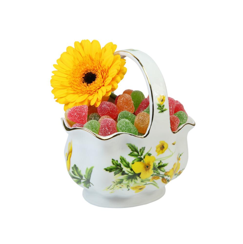 瓶花与水果线描