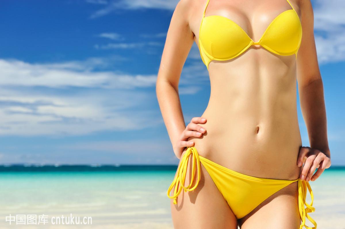 黄色裸体人体下体bb_白色,比基尼,度假,放松,腹部,黄色,健康生活方式,蓝色,旅行,旅游胜地