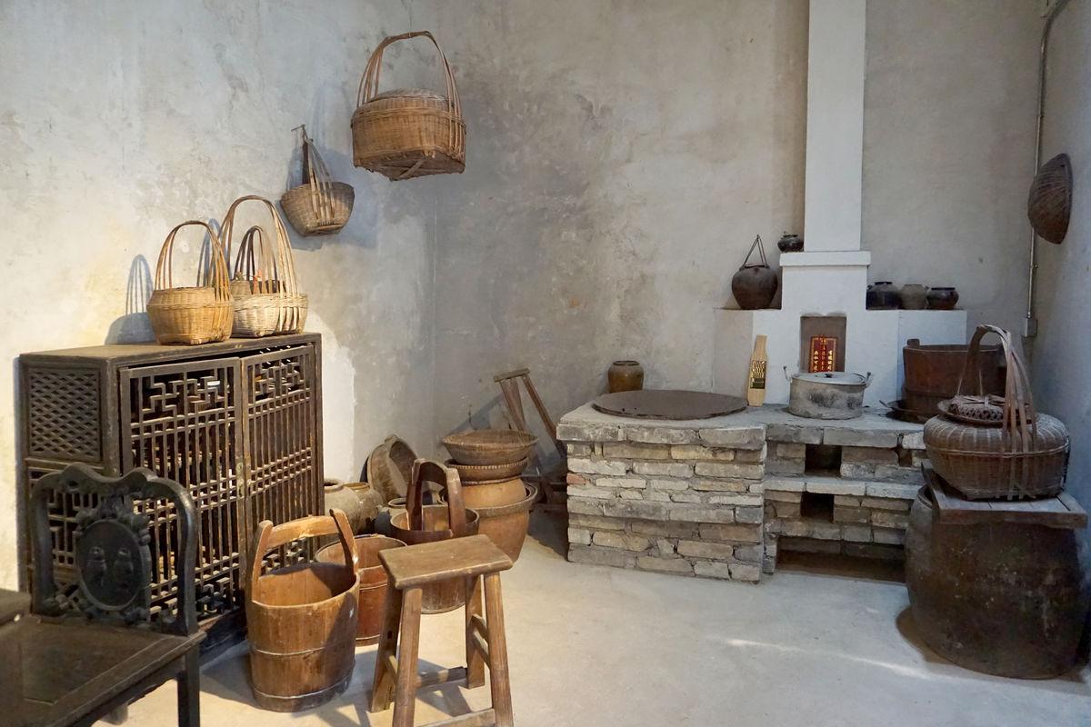 农村厨房土灶设计图分享展示图片