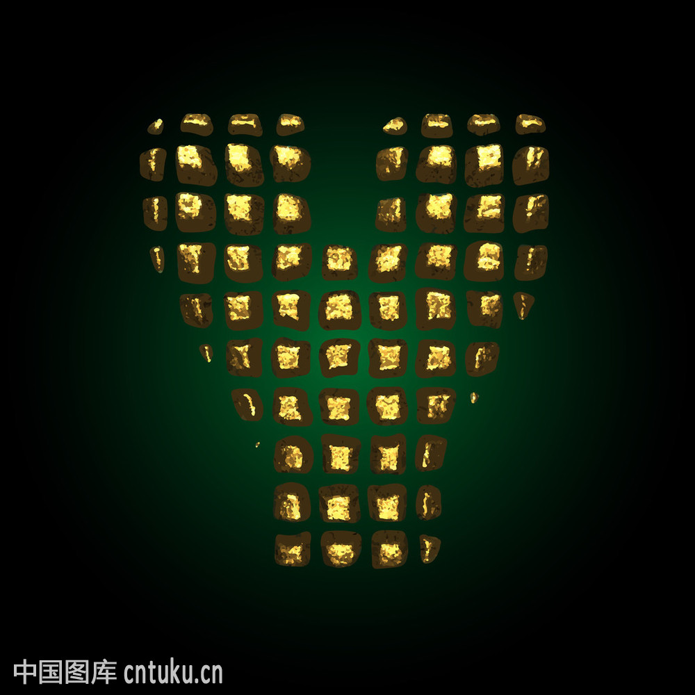 y_矢量黄金字母y