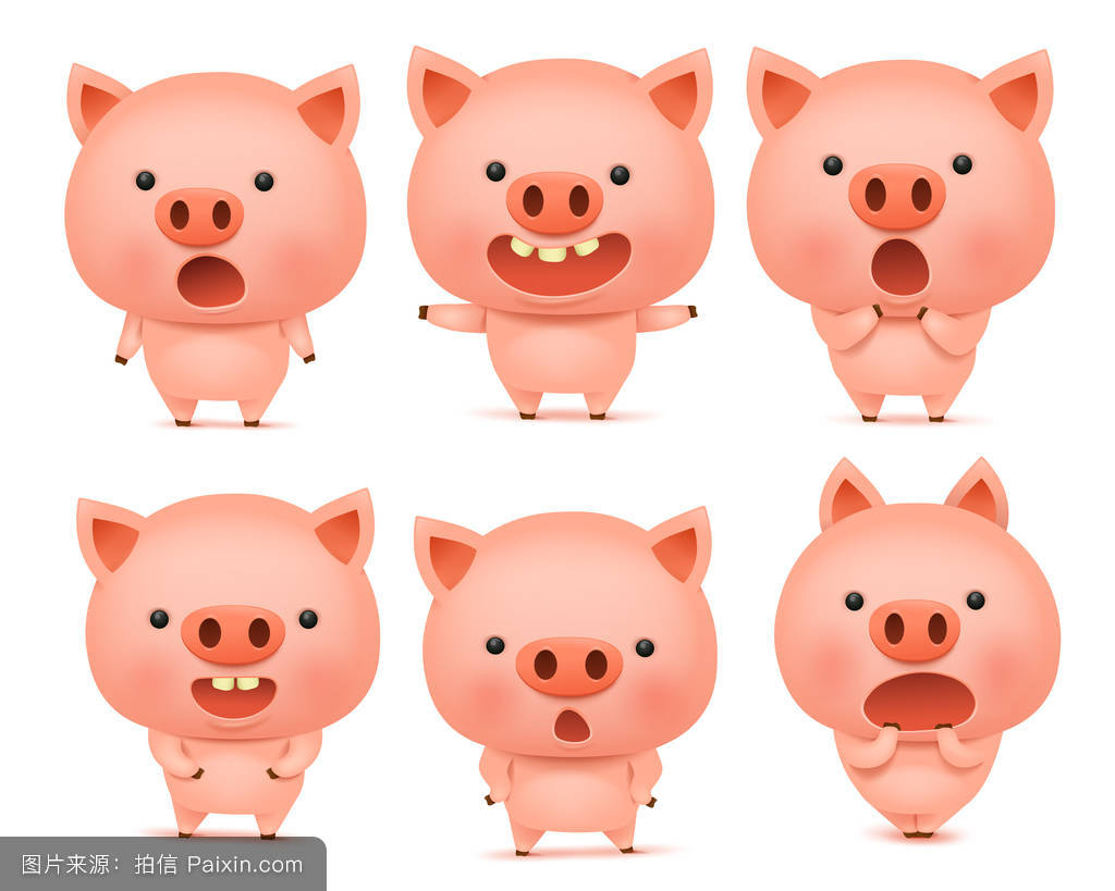 把你变成猪表情包-在线图片欣赏图片