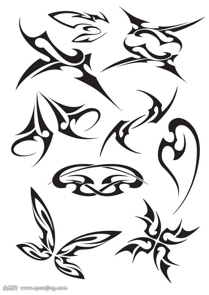 不同,纹身图片