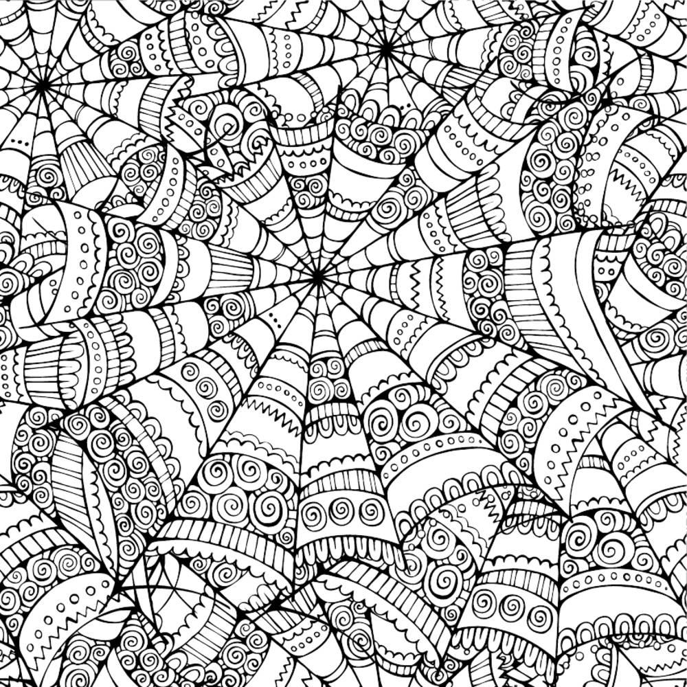 蜘蛛网纹身图案素材分享展示图片