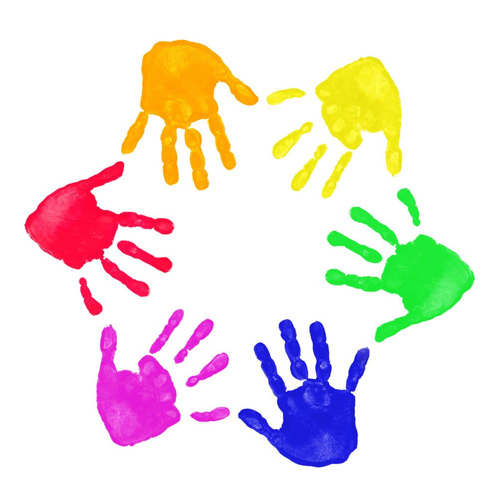 手印,手掌,手指,顺序,童年,颜料,艺术,印刷,婴儿,指纹,象征,杂乱,儿童图片