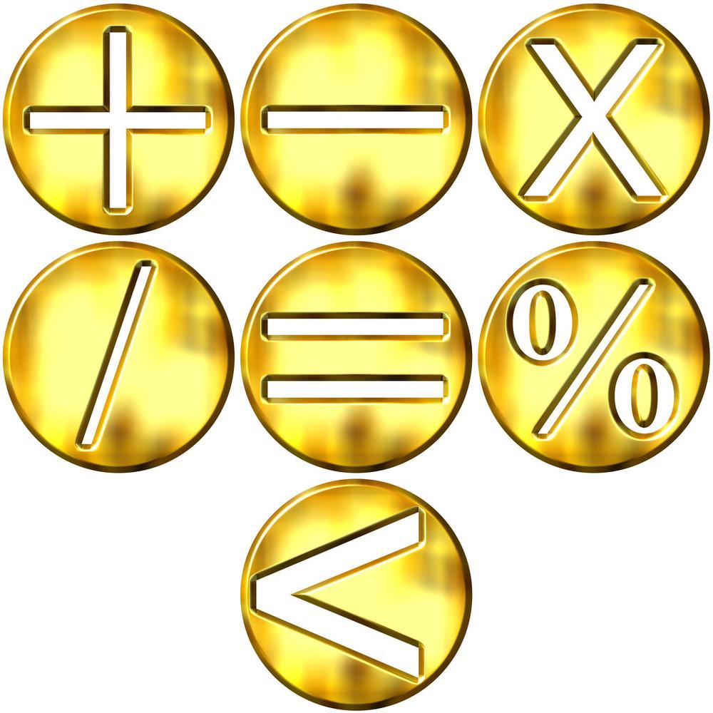 数学符����9�$9�9f�j_三维黄金数学符号