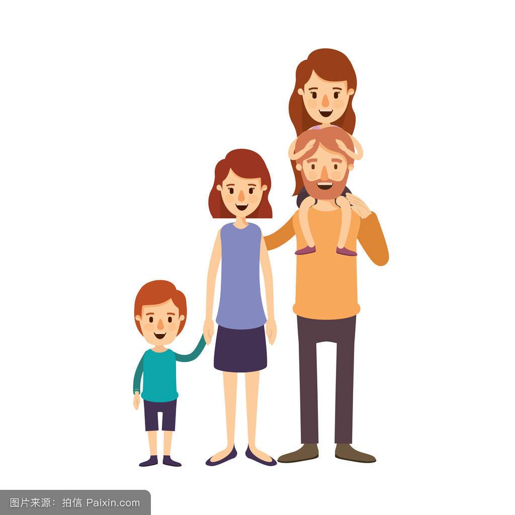 妈妈色爸爸色_儿子,随便的,大的,女孩,小孩,漫画,儿童,妈妈,父亲,成人,男孩,颜色