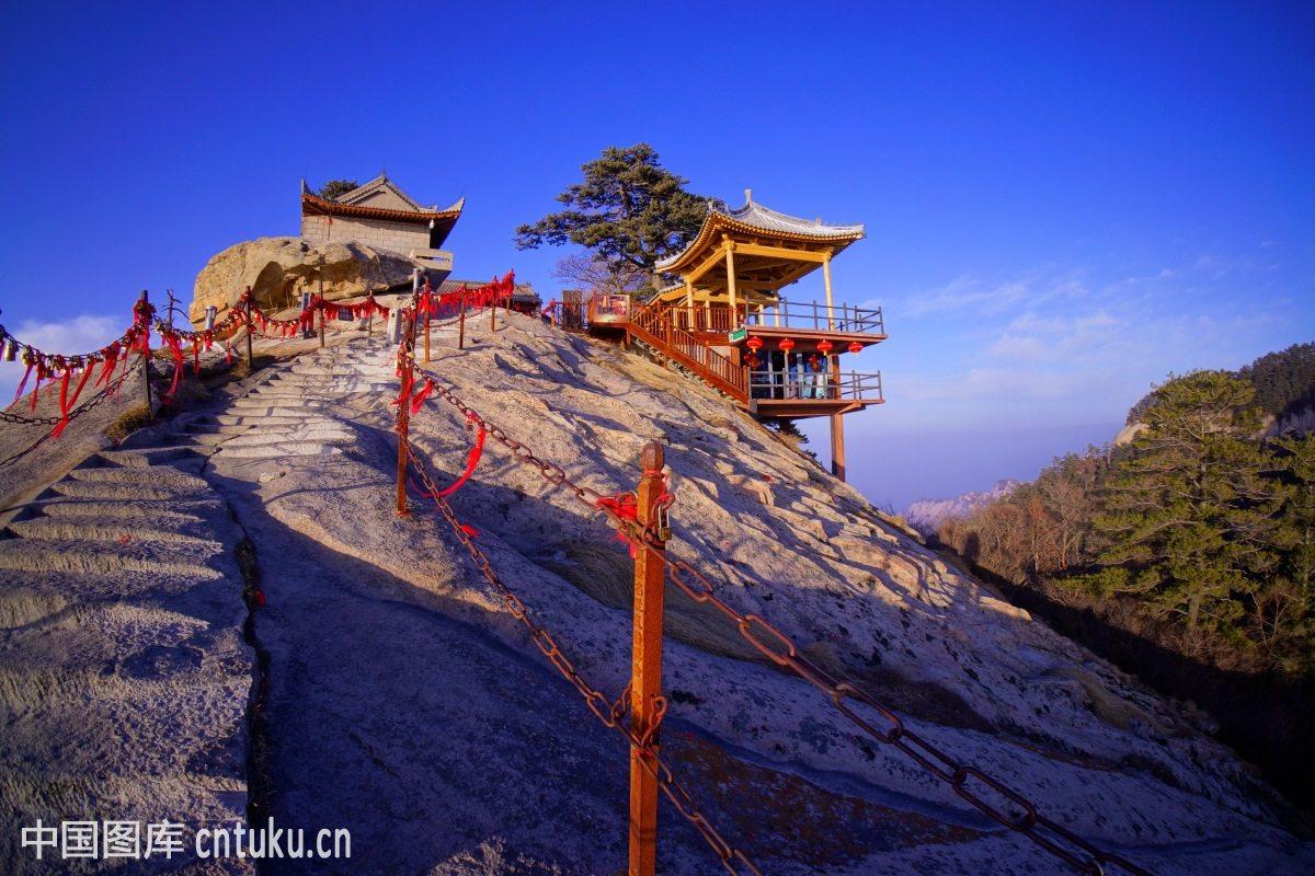 五岳华山风光图片