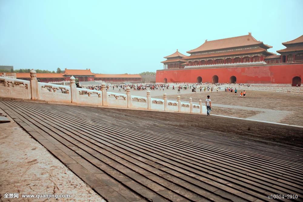 中国,古老,建筑,皇家,宫殿,博物馆,故宫,城市,北京,墙壁,纪念碑,明图片