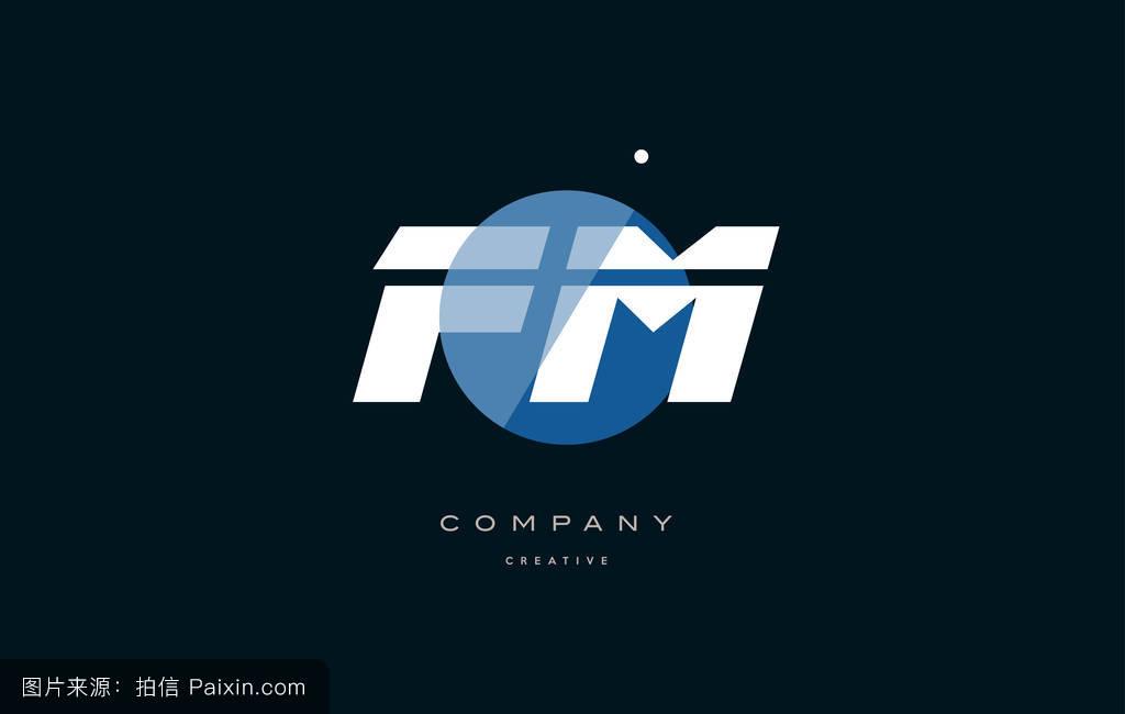 普通朋��fm�e�_蓝色,标志,现代的,符号,eps,字母表,矢量,商业,标识,公司,fm,形状