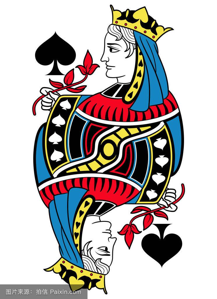 蓝色,扑克牌,女王,符号,扑克,游戏,暴发户,玩,卡片,形状,赌徒,分离