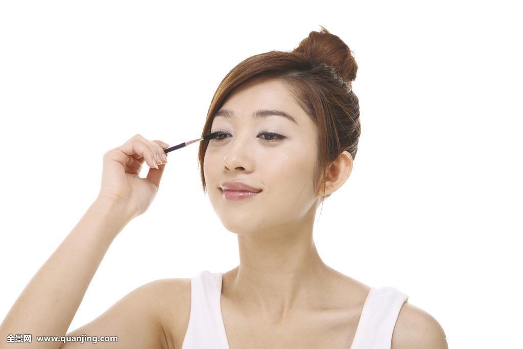 亚州女人�9�'�od9o9f�x�_休闲服,肖像,年轻人,亚洲人,中国人,年轻,女人,女性,棚拍,白色背景,2