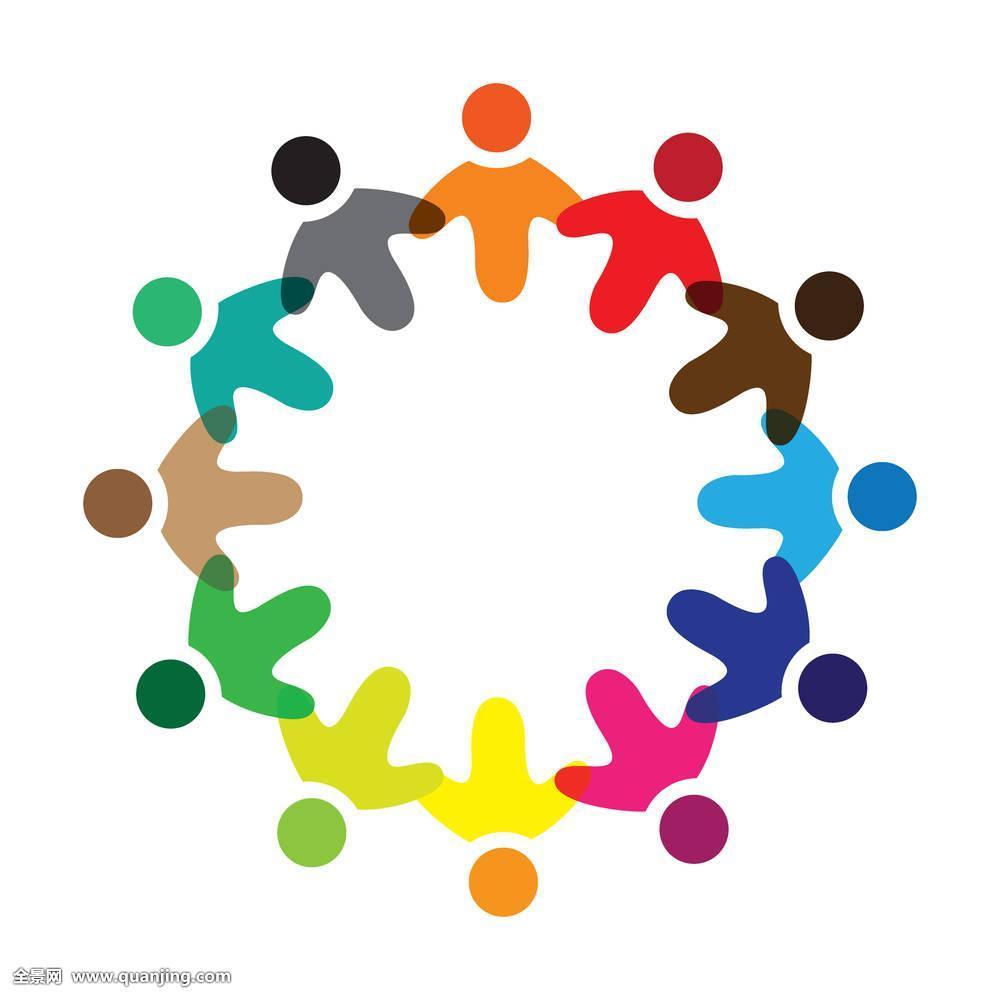 童_概念,矢量,彩色,学童,象征,标识,插画,工作,职员,不同,友谊,分享,孩子