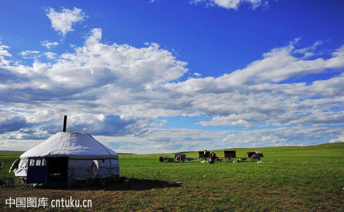 风景,草坪,草原蒙古包群,农家乐蒙古包,呼和浩特,和林格尔县,呼伦贝尔图片