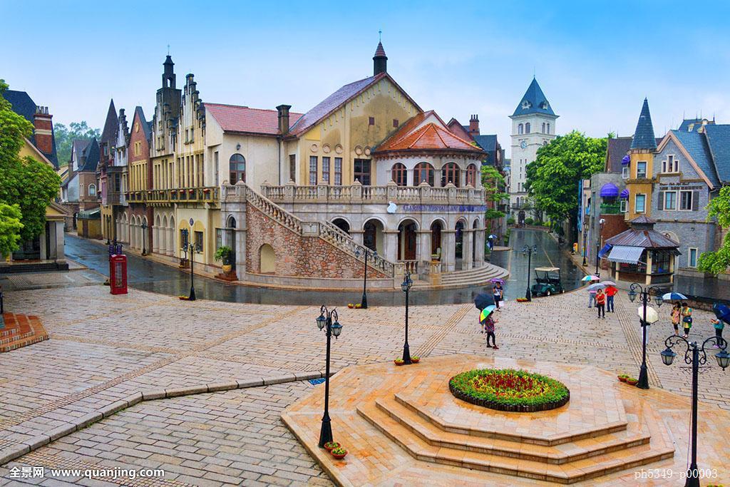 旅游,情调,郊游,旅行,浪漫,欧洲,欧式,建筑外观,花坛,哥特式,建筑风格图片