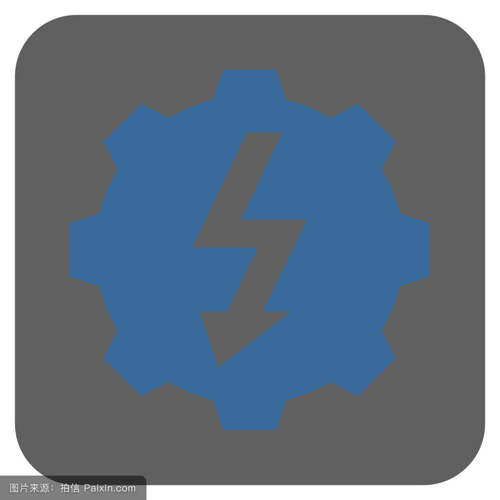 迅雷5图标_创新,迅雷,设计元素,指控,服务,平的,系统,cog,钴蓝色灰色,配置,应用