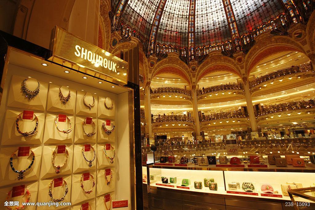 巴黎,商业,老佛爷图片
