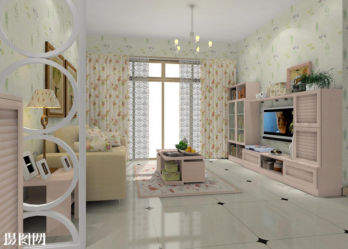 现代风格,客厅效果图,田园风格,家装效果图,室内效果图,效果图,设计图片