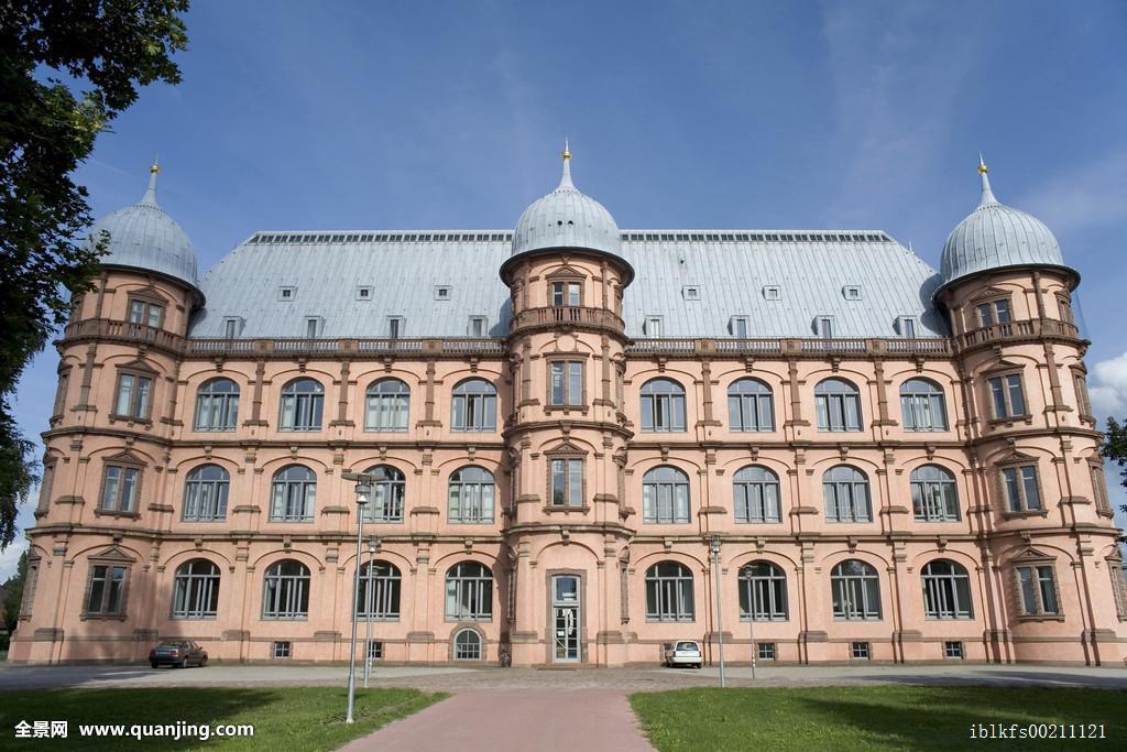 大学�ycj�i!9m�y/g9�.���_西部,城堡,大学,音乐,卡尔斯鲁厄,巴登符腾堡,德国