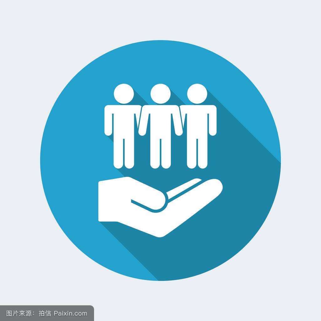 社会,办公室,符号,友谊,平的,合作伙伴,概念,工作人员,家庭,商业图片