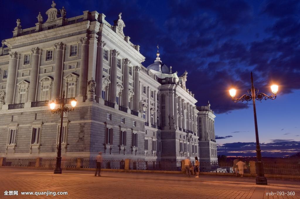 皇宫,马德里,西班牙,欧洲图片