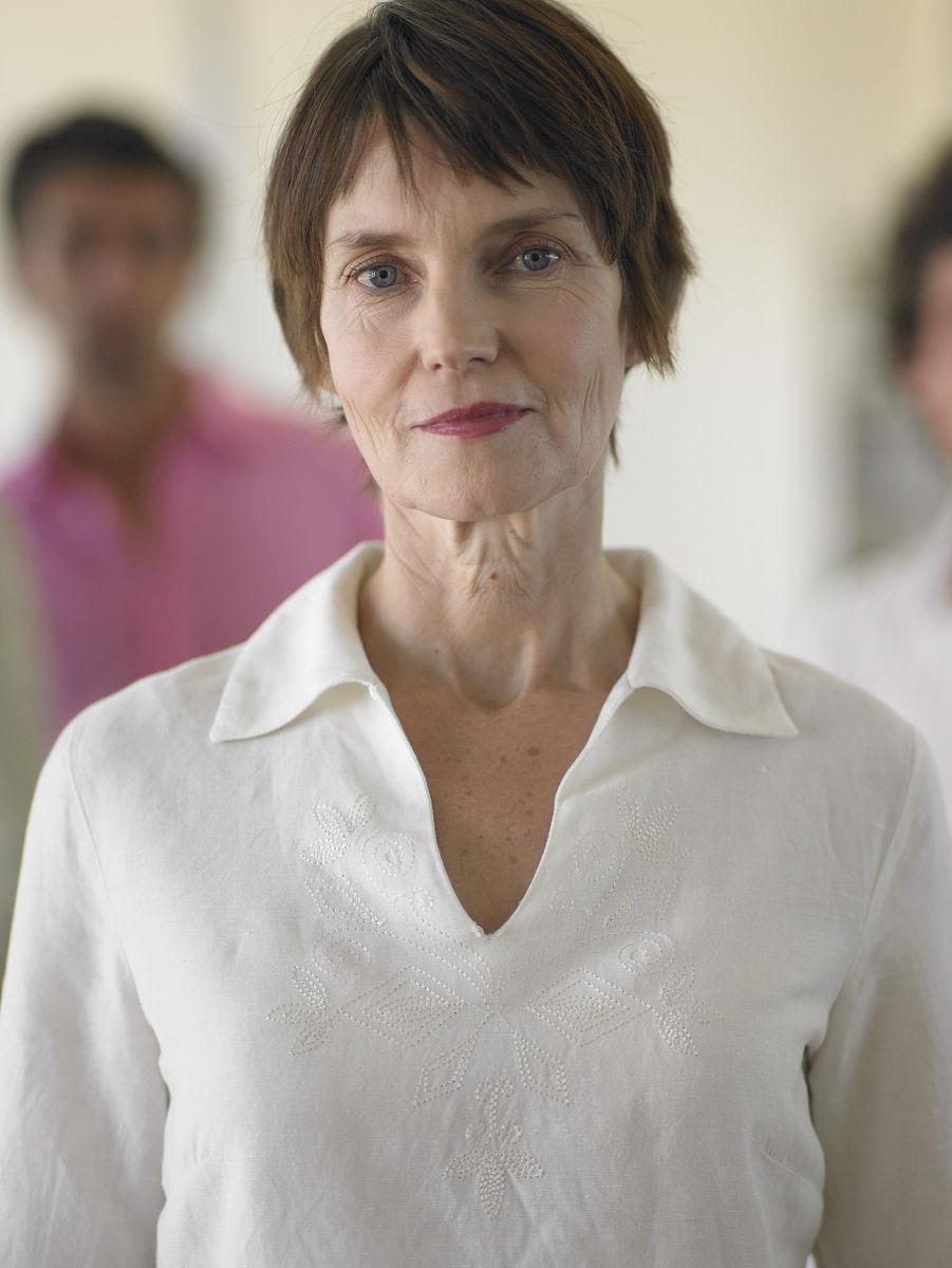 中老年人短发发型图片 50岁女人短发最新发型气质
