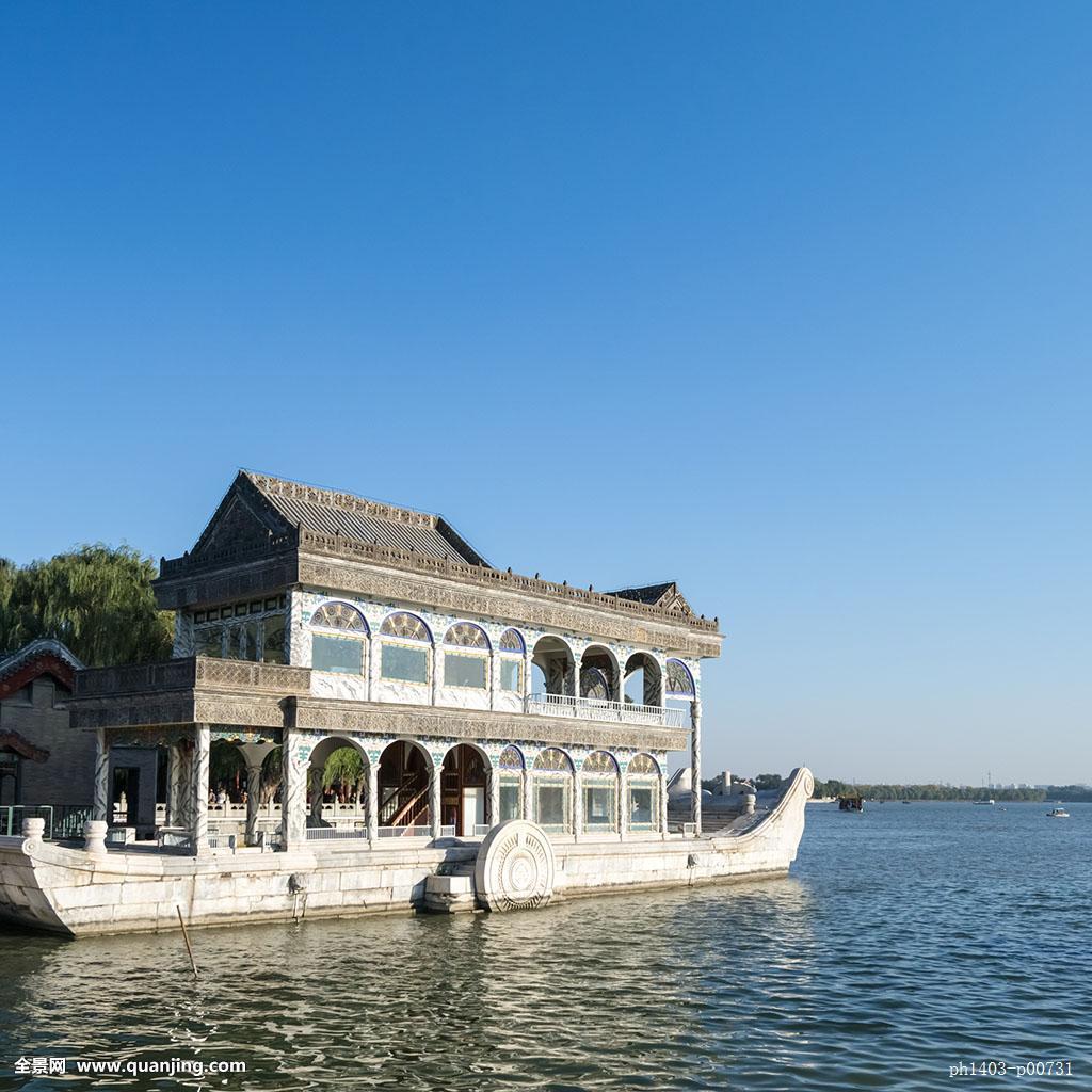 无人,全景,户外,北京市颐和园,雕刻,石刻,石雕,琉璃,屋檐,雕塑,园艺图片