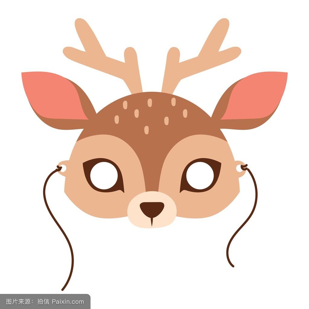 卡通小鹿图片萌,动漫小鹿头像图片,漫画鹿图片大全图片