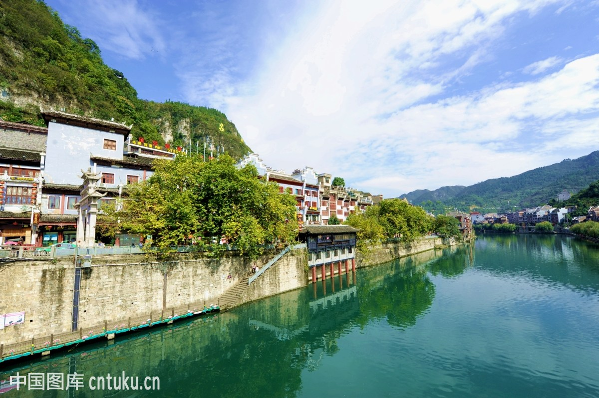 城市类:贵州镇远古镇图片