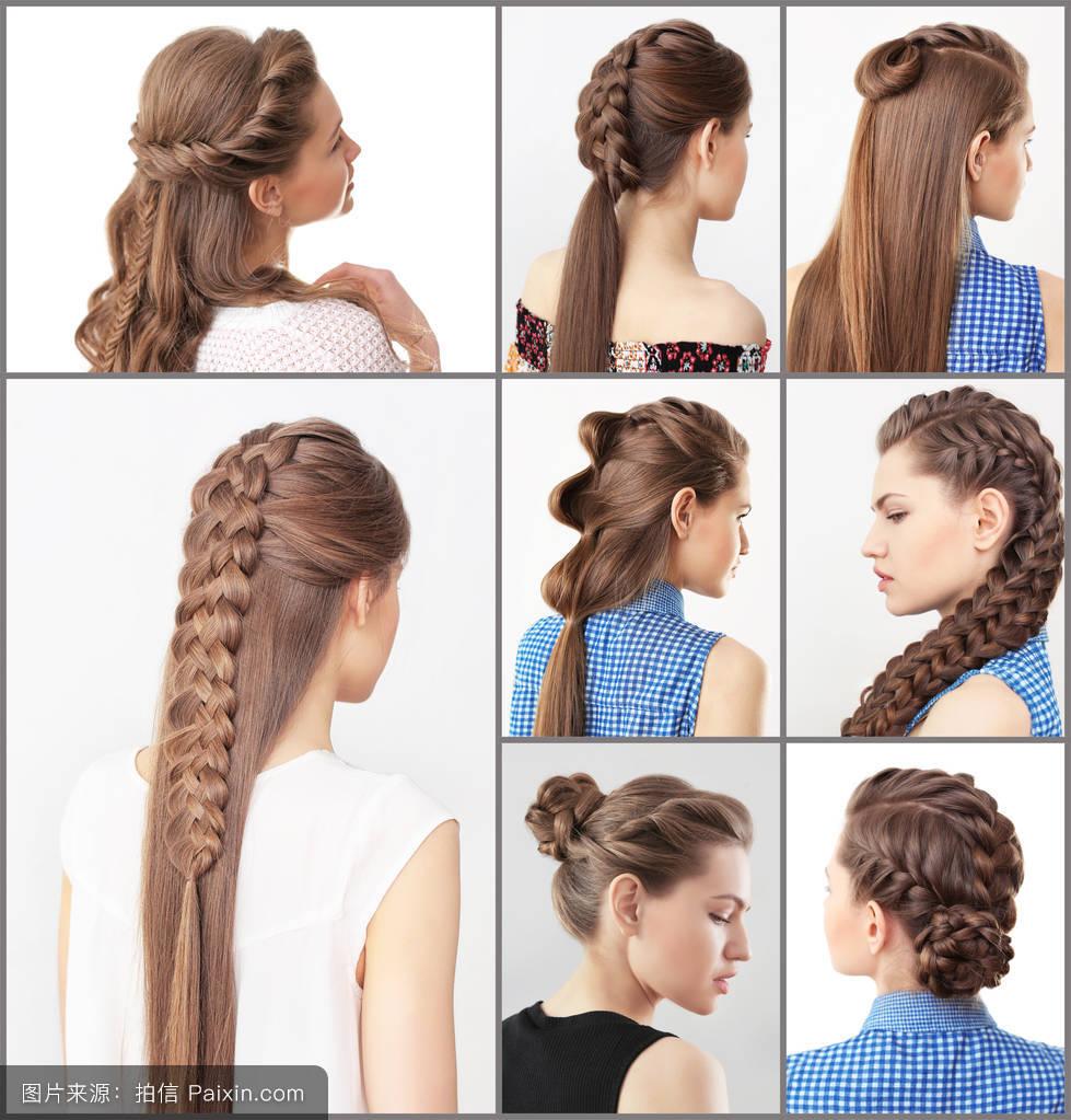 女人短发型图片