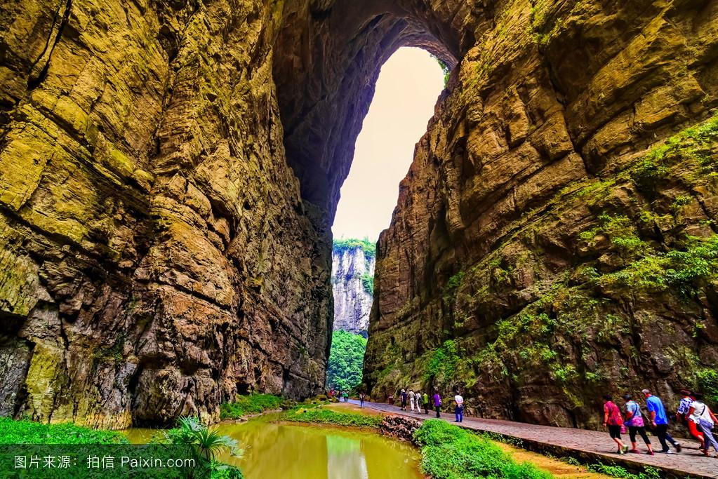 山���!�-��.�9`a�f-:##_天空,自然,景观,美丽的,峡谷,折叠,陡峭的,假日,崇高的,生态,龙水,山