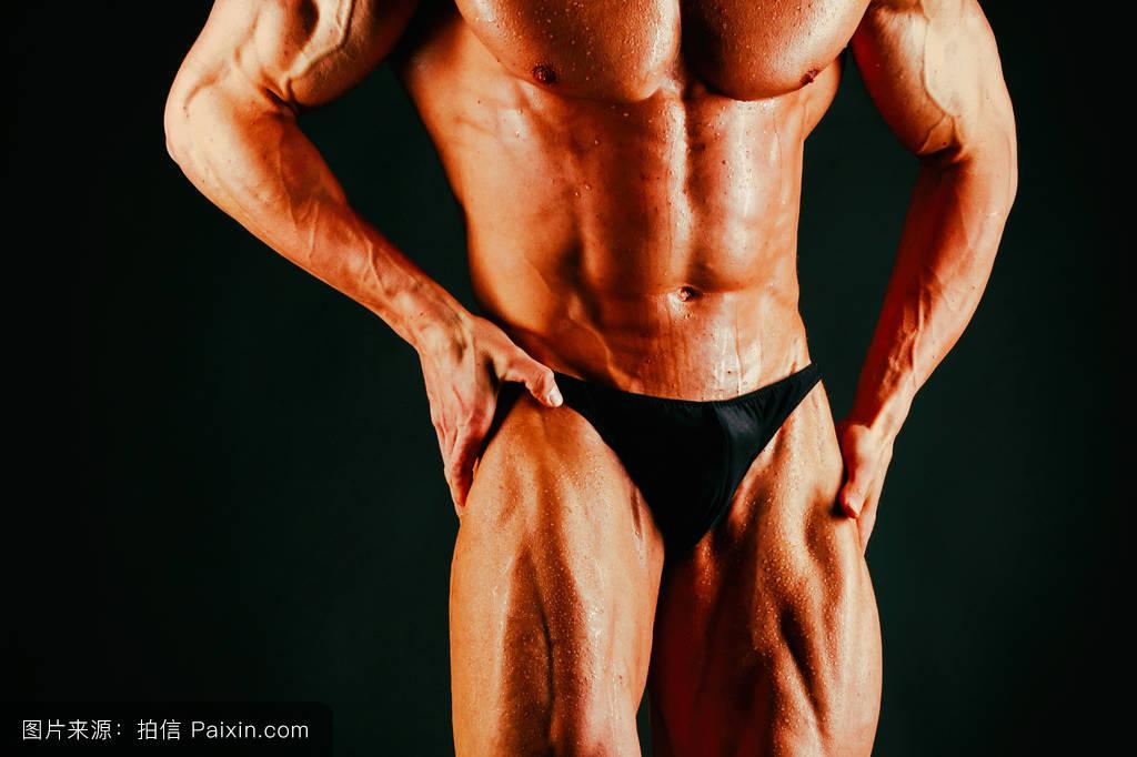 日本人体裸体阴�_男性的,单独地,健美,美丽的,裸体的,古铜色的,人体躯干,苗条的,大,肌