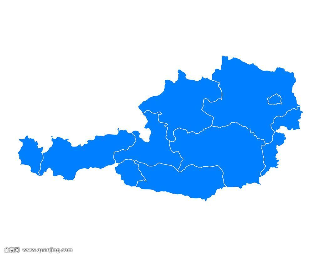 州�9k�yley�.���X{�zy_蓝色,维也纳,卡林西亚,插画,卡,国家,下奥地利州,上奥地利州,施蒂里亚