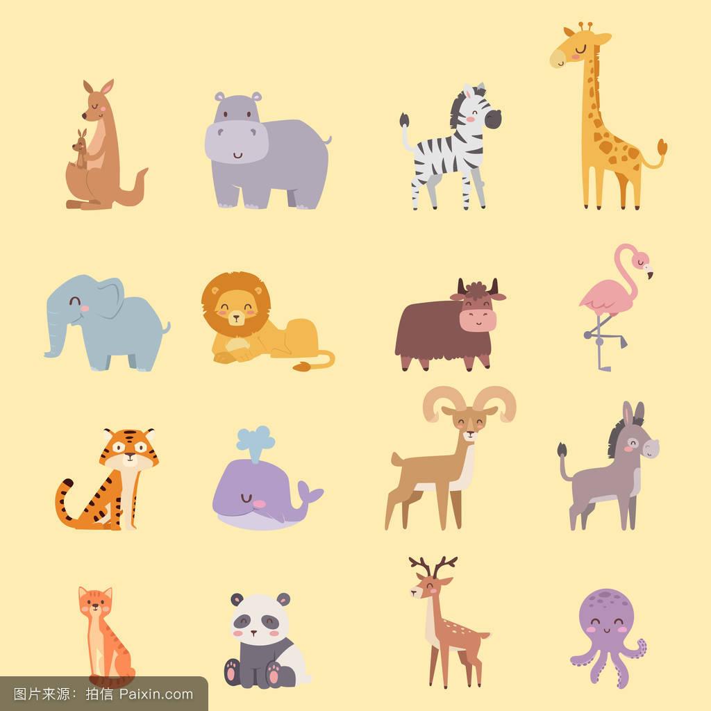 蚊子,老虎,偶像,旅行,肖像,鱼,学习,漫画,乐趣,牦牛,小孩,章鱼,幼儿园肺里进动物图片
