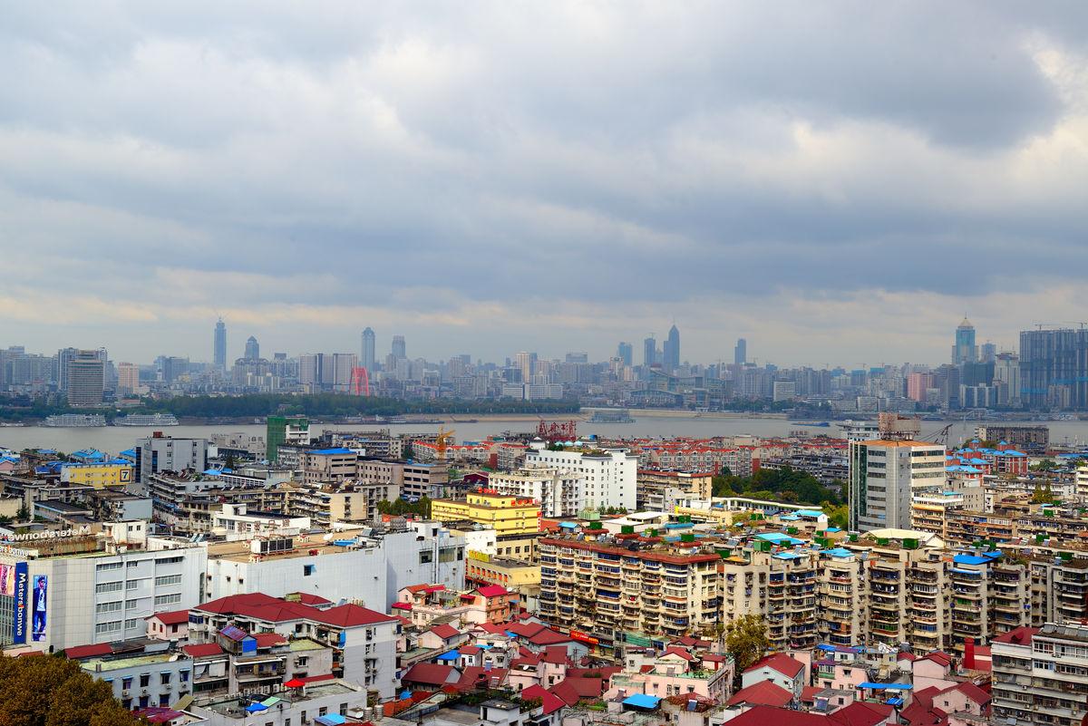 武汉城市建设 全景 武汉风光图片