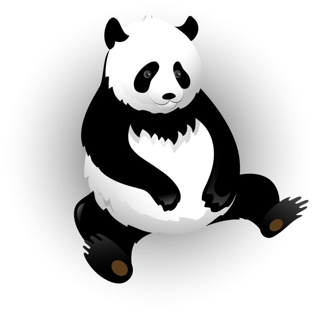 跪谢表情包 gif 熊猫分享展示图片
