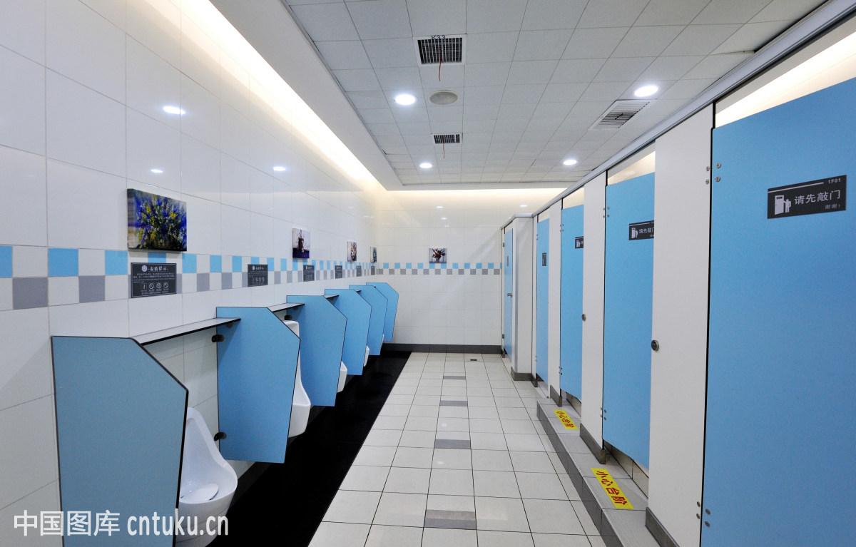 厕所,公共厕所,建筑,男厕所,墙板,正面视角,装修图片