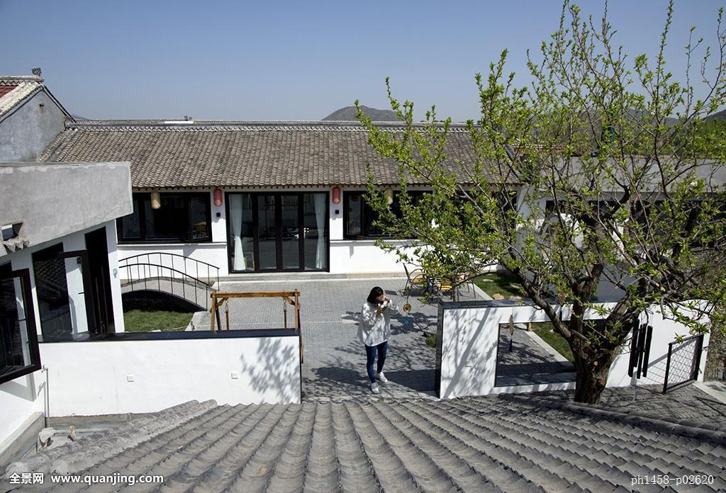 农村房屋中式设计图 农村带院子房屋设计图农村二