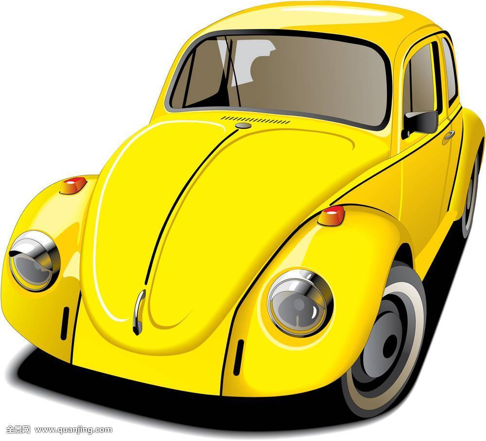 经典的黄色小�9`��l$yi���oy�z`���-��_风格,德国,复古,复苏,文化,运输,旧式,欧洲,白人,小,汽车,黄色,经典