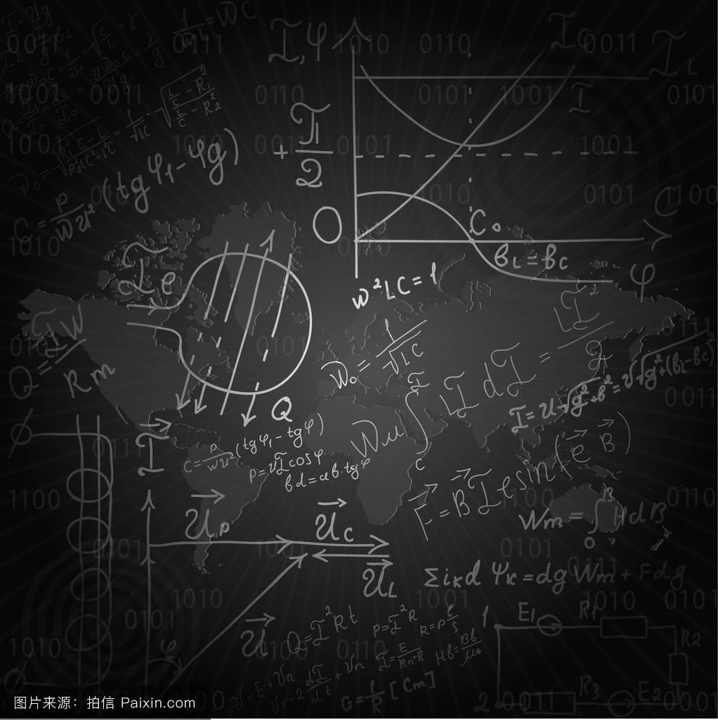 方程式物理学图形学习导数黑色墙公式教科学加乘法推导图片
