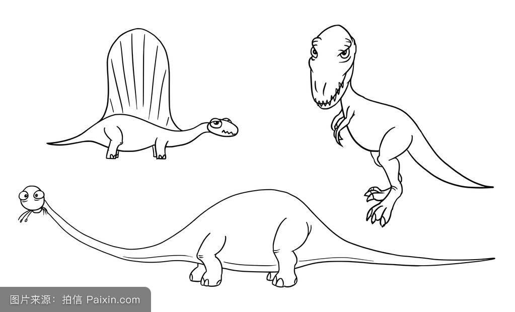 恐龙化��-a9��_神话,绘制,怪胎,丑陋的,图解的,说明,恐龙,绘画,分离,可爱的,程式化的
