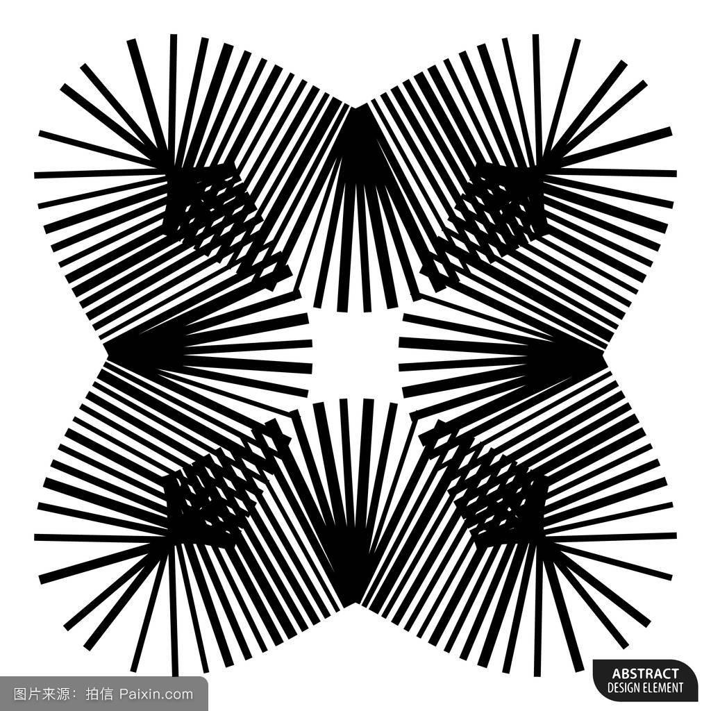直线构成的几何元素图片