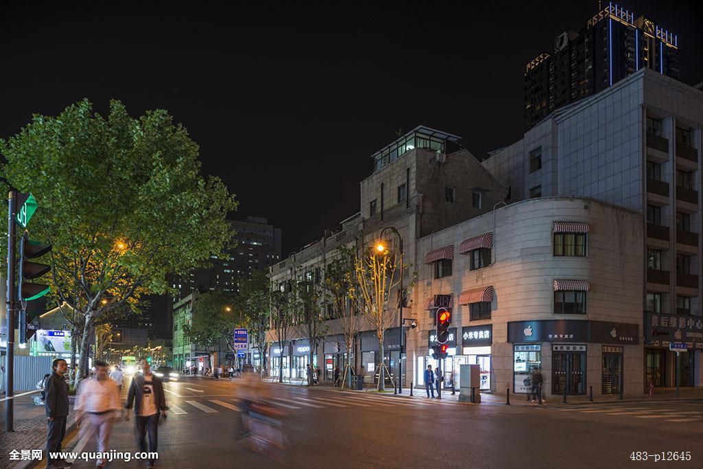 中山大道,江汉路,步行街,地标,租界,文物,保护单位,建筑,户外,大气图片