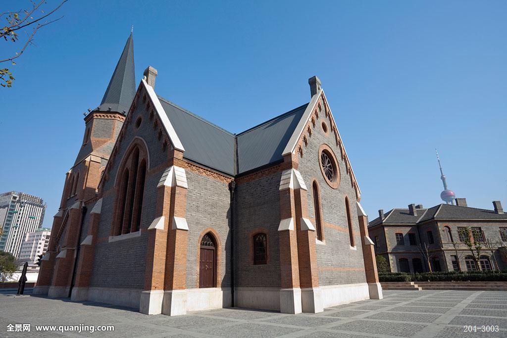 1901年扩建,由道达尔设计,防维多利亚时期罗马式建筑风格图片