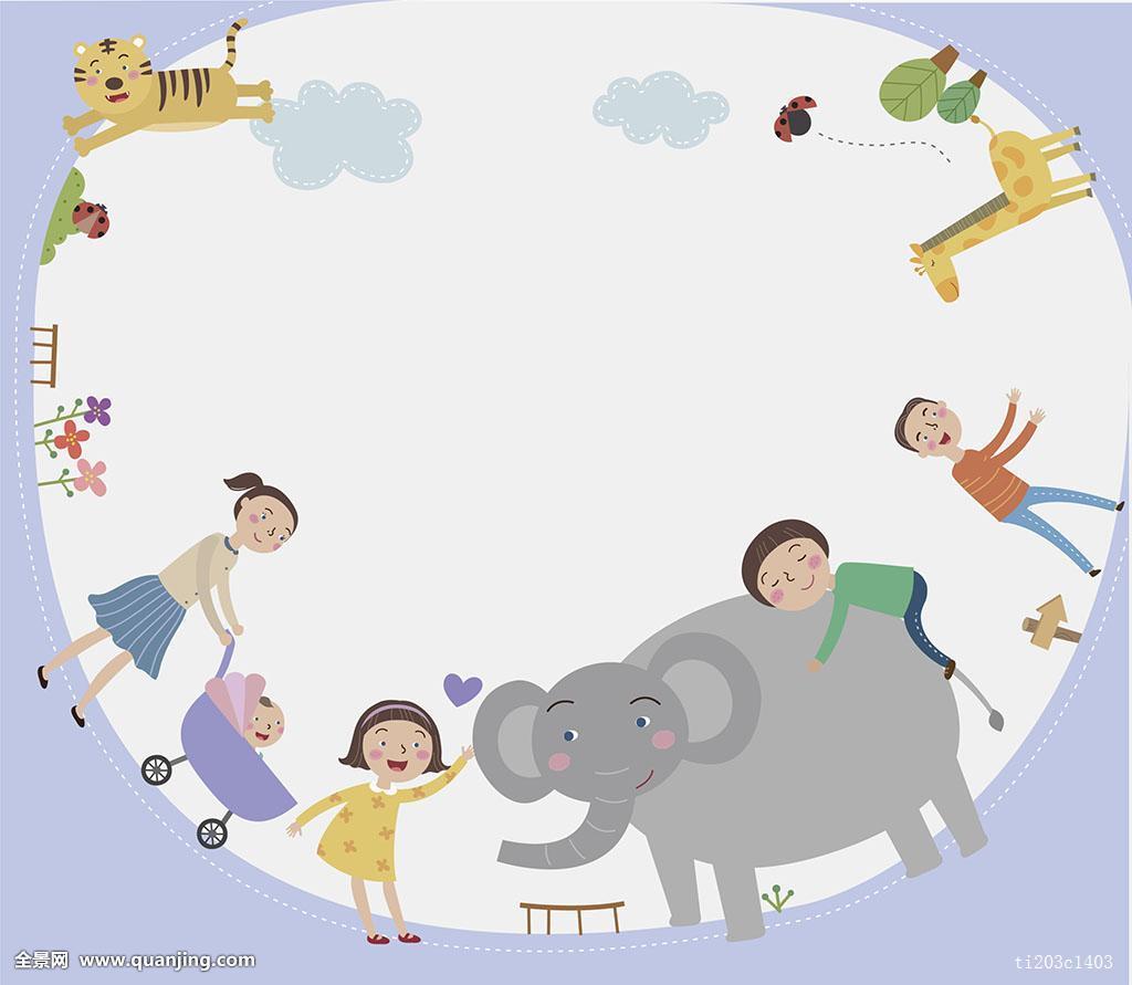 插画,人,家庭,背景,男性,男孩,女性,女孩,母亲,母性,父亲,父爱,兄弟图片
