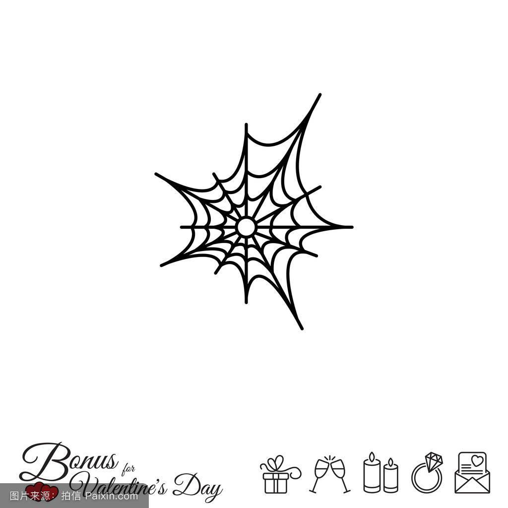 蜘蛛标志纹身分享展示图片