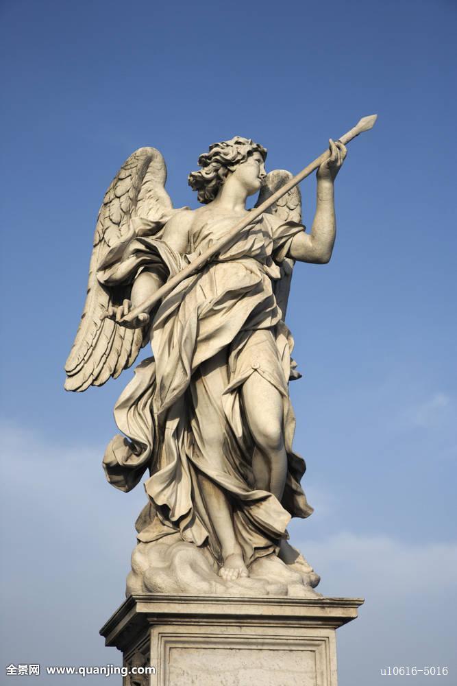 天使,雕塑图片