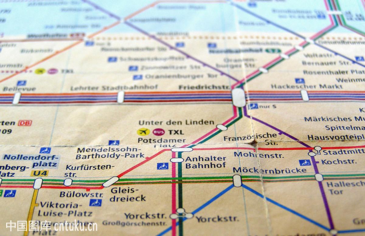 柏林,车站,德国,地铁,地图,地下通道,公共设施,管子,火车,细线,运输图片