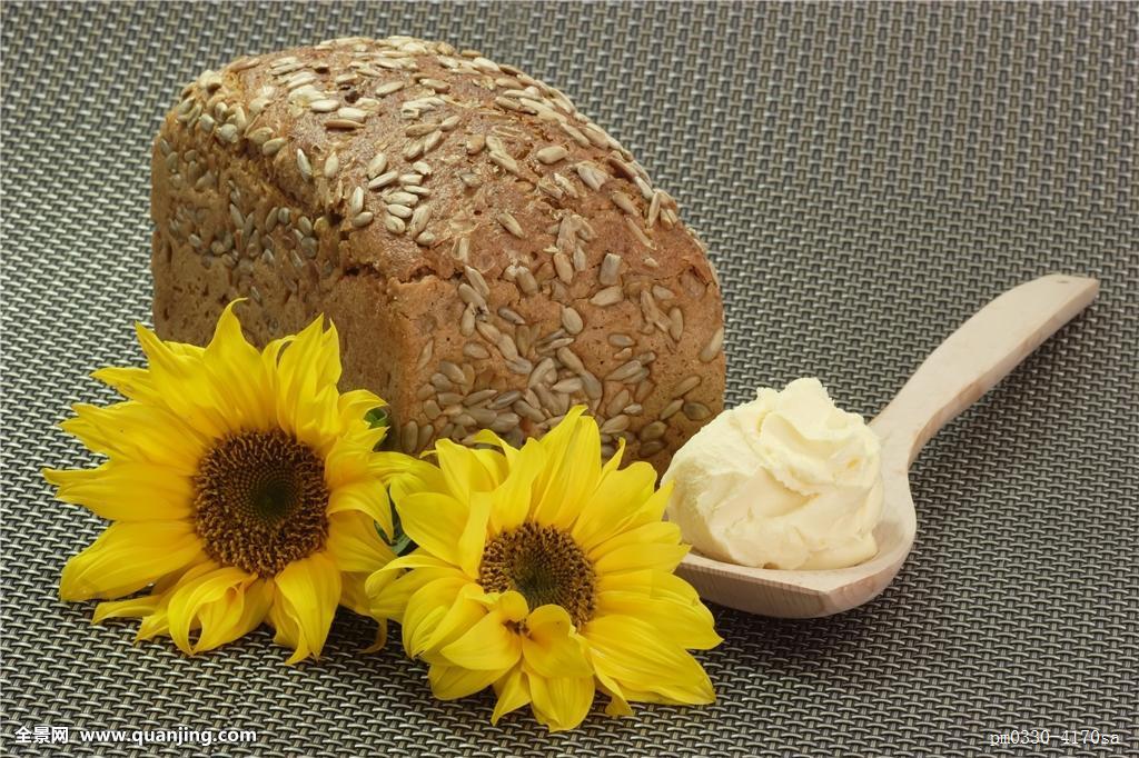 人造奶油的成分_面包,人造奶油,黄油,食物,食粮,维生素,向日葵,糕点,成分,木勺,营养