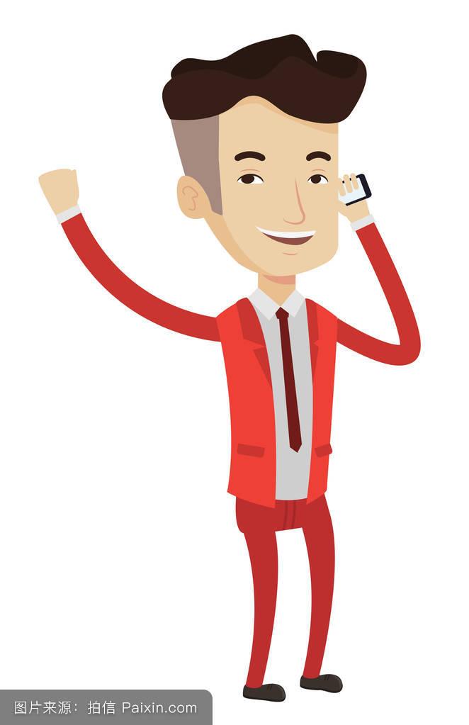 商业插画,平的,商业,分离,会话,商业人士,经营理念,工作,商人说,公司图片